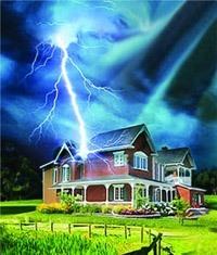 Молниезащита зданий, молниеприемник г.Пенза