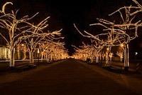 Подключение освещения зданий в Пензе