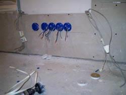 Электромонтажные работы в квартирах новостройках в Пензе. Электромонтаж компанией Русский электрик