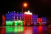 Наружное освещение: архитектурное освещение зданий, фасадов дома в Пензе